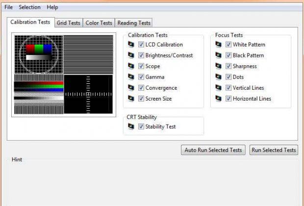 Kiểm tra màn hình bằng AIAD64