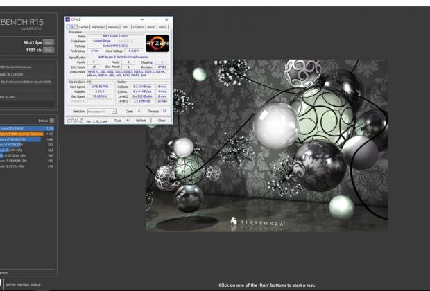 Phần mềm Cinebench