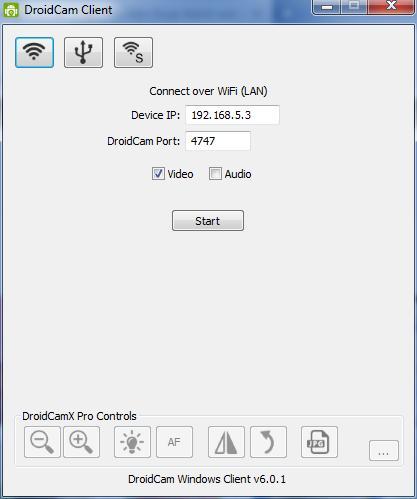 Droidcam Client Wifi